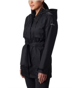 Columbia W's Pardon My Trench Rain Jacket