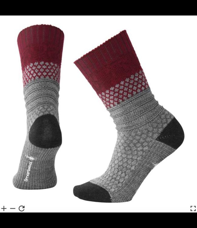 W's Popcorn Cable Socks