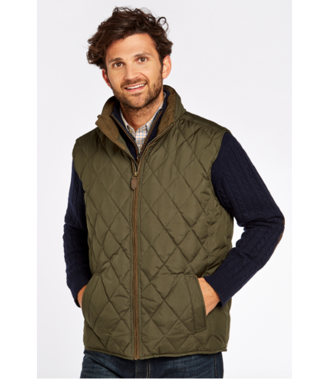 Dubarry M's Davis Quilted Vest