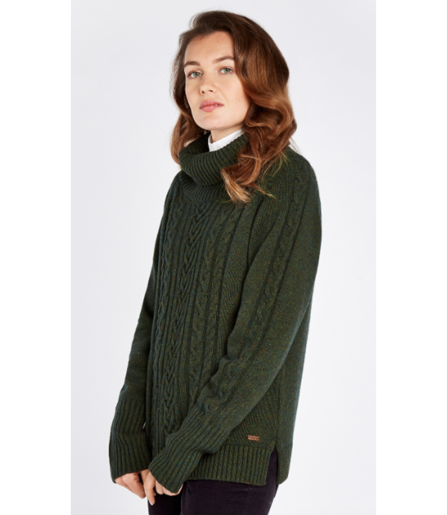 Dubarry W's Kennedy Cable Stitch Knitted Sweater