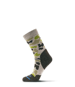 Fits Light Hiker (Camo Print) Crew Sock