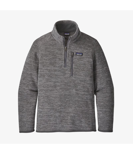 Patagonia Boys' Better Sweater 1/4-Zip Fleece