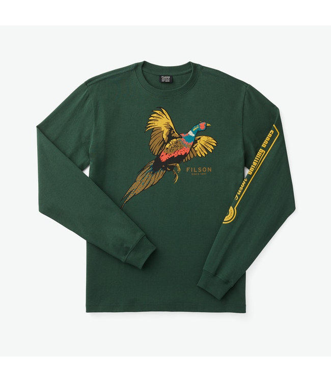 Filson L/S Outfitter Graphic T-Shirt