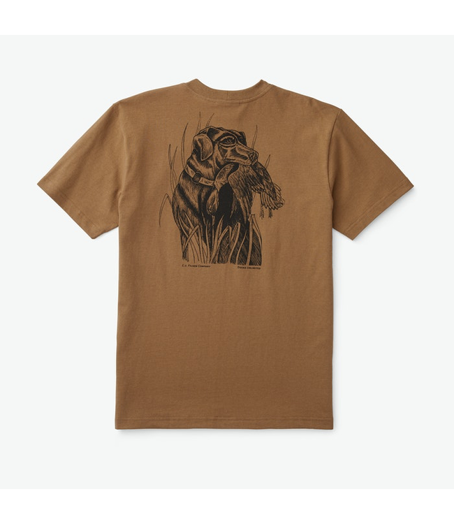 Filson M's Ducks Unlimited S/S Outfitter Graphic T-Shirt