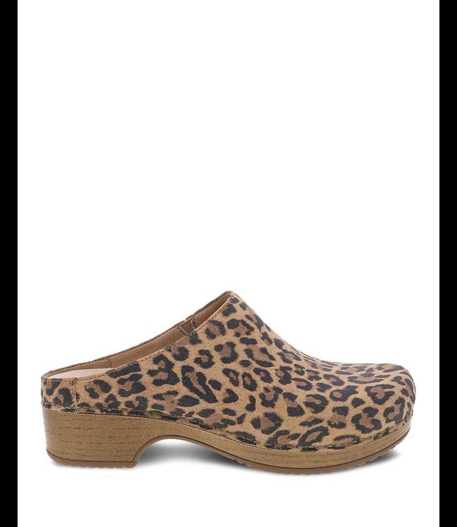 Dansko W's Brenda Leopard Suede