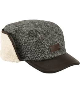 Stormy Kromer The Bergland Cap in Harris Tweed