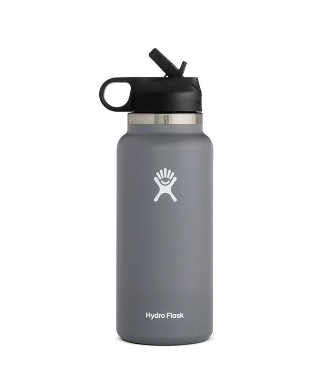 Hydro Flask Wide Mouth w/ Straw Lid