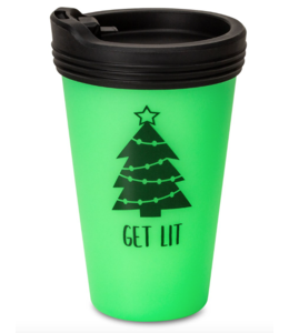 Silipint Silipint Christmas Cup w/ Lid