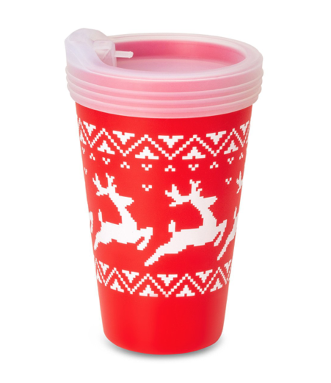Silipint Silipint Christmas Cup w/ Lid