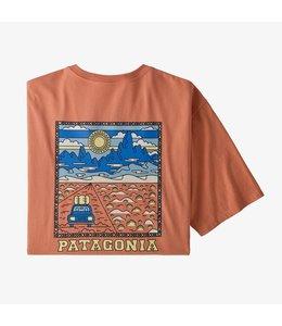 Patagonia M's Summit Road Organic Cotton T-Shirt