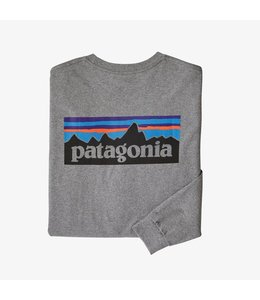 Patagonia M's L/S P-6 Logo Responsibili-Tee