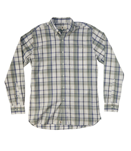 DUCKHEAD M's Bayou Plaid Button-Down L/S