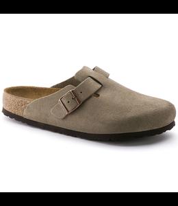 Birkenstock Boston Soft Footbed Suede Leather