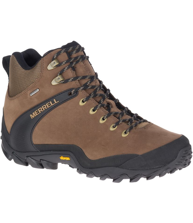 Merrell M's Chameleon 8 Leather Mid Waterproof