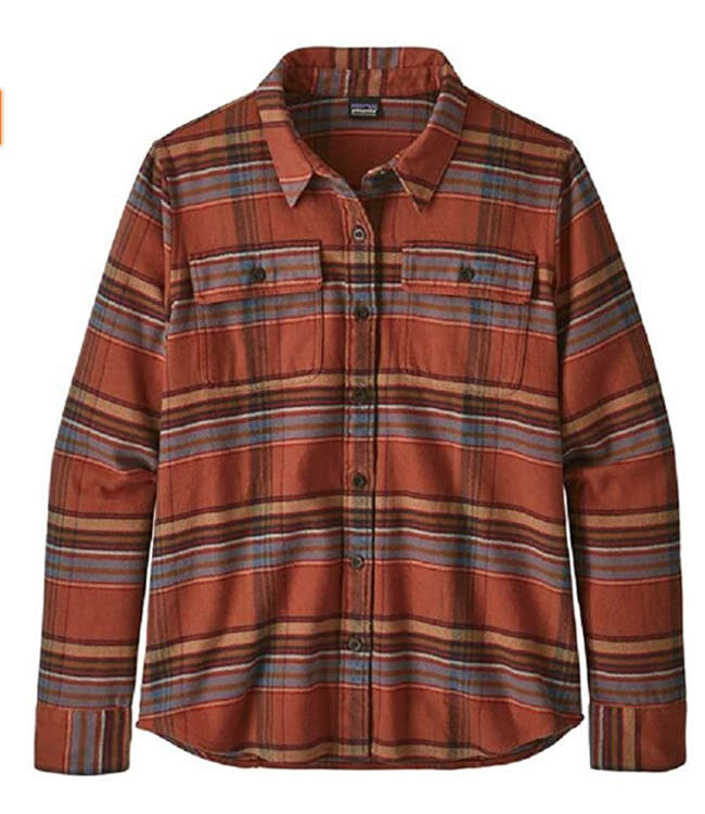 Patagonia W's Long-Sleeved Fjord Flannel Shirt
