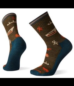 SmartWool M's Hike Light Park Explorer Pattern Crew Socks