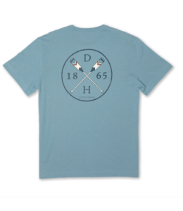 DUCKHEAD M's Grayton Cross Paddle Short Sleeve T-Shirt