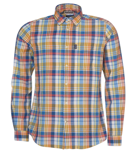 Barbour M's Madras 10 Tailored Shirt