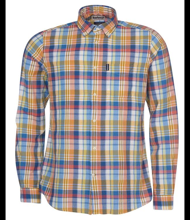 Barbour M's Madras 10 Tailored Shirt