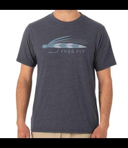 Free Fly M's Streamer Tee