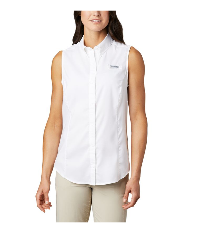 Columbia W's PFG Tamiami Sleeveless Shirt
