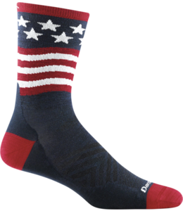 Darn Tough M's Patriot Micro Crew Ultra-Lightweight Running Socks