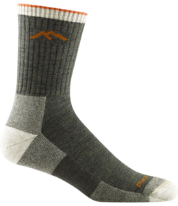 Darn Tough M's Hiker Micro Crew Midweight Hiking Socks
