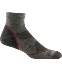 Darn Tough M's Light Hiker Quarter Lightweight Hiking Sock