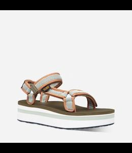 Teva W's Flatform Universal Mesha Print Sandal
