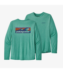 Patagonia M's L/S Capilene Cool Daily Graphic Shirt