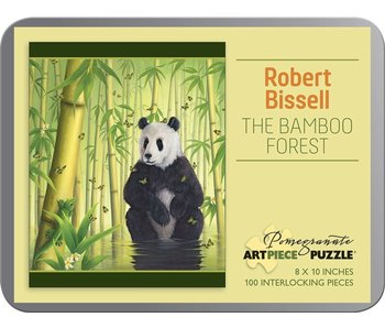 POMEGRANATE POMEGRANATE ARTPIECE PUZZLE 100 PIECE: BISSELL BAMBOO FOREST