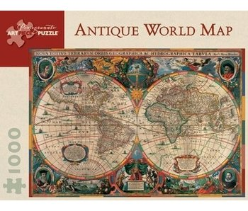 POMEGRANATE ARTPIECE PUZZLE 1000 PIECE: ANTIQUE WORLD MAP