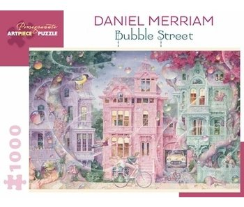 POMEGRANATE POMEGRANATE ARTPIECE PUZZLE 1000 PIECE: DANIEL MERRIAM BUBBLE STREET