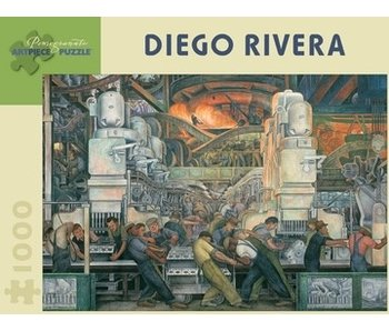 POMEGRANATE POMEGRANATE ARTPIECE PUZZLE 1000 PIECE: DIEGO RIVERA