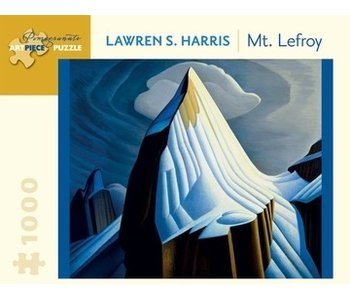 POMEGRANATE POMEGRANATE ARTPIECE PUZZLE 1000 PIECE: LAWREN S HARRIS MT. LEFROY