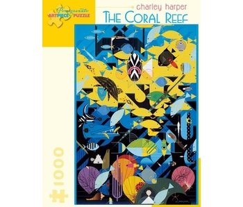 POMEGRANATE ARTPIECE PUZZLE 1000 PIECE: THE CORAL REEF