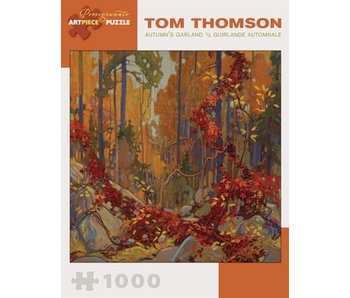 POMEGRANATE ARTPIECE PUZZLE 1000 PIECE: TOM THOMPSON AUTUMN'S GARLAND
