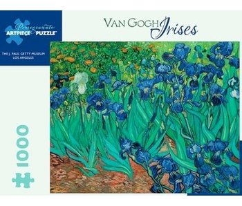 POMEGRANATE POMEGRANATE ARTPIECE PUZZLE 1000 PIECE: VAN GOGH IRISES