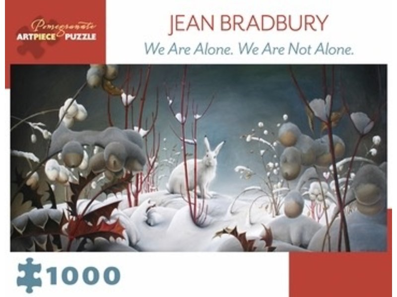 POMEGRANATE ARTPIECE PUZZLE 1000 PIECE: WE ARE ALONE. WE ARE NOT ALONE