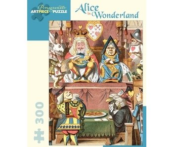 POMEGRANATE POMEGRANATE ARTPIECE PUZZLE 300 PIECE: ALICE IN WONDERLAND