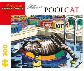 POMEGRANATE POMEGRANATE ARTPIECE PUZZLE 300 PIECE: B KLIBAN POOL CAT