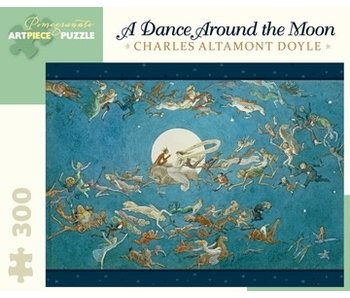 POMEGRANATE POMEGRANATE ARTPIECE PUZZLE 300 PIECE: DOYLE DANCE AROUND THE MOON