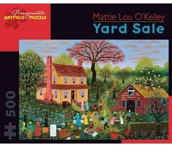 POMEGRANATE ARTPIECE PUZZLE 500 PIECE: O'KELLEY YARD SALE
