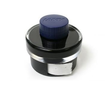 LAMY CALLIGRAPHY INK BOTTLE 50ML BLACK/BLUE