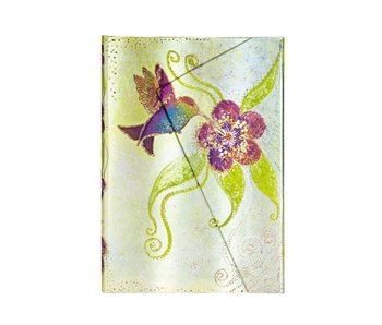 PAPERBLANKS JOURNAL WHIMSICAL CREATIONS HUMMINGBIRD MINI WRAP LINED