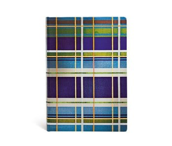 PAPERBLANKS JOURNAL MAD FOR PLAID DAVENPORT MIDI LINED
