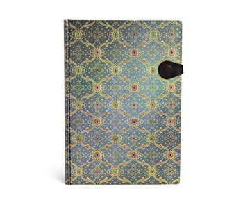 PAPERBLANKS JOURNAL FRENCH ORNATE BLEU GRANDE LINED