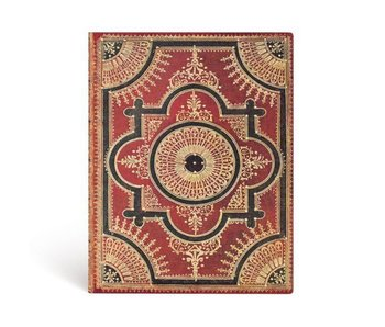 PAPERBLANKS PAPERBLANKS JOURNAL FLEXIS VENTAGLIO ROSSO KRAFT ULTRA LINED