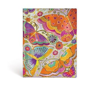 PAPERBLANKS JOURNAL FLEXIS FLUTTERBYES ULTRA LINED