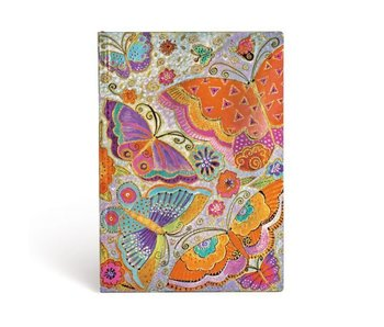 PAPERBLANKS JOURNAL FLEXIS FLUTTERBYES  LINED